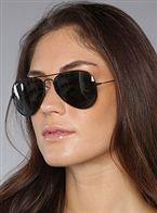 خرید عینک آفتابی زنانه ری بان مشکی